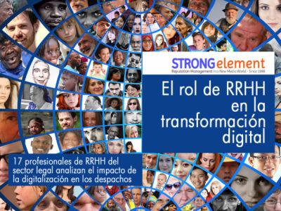 eBook rol de RRHH en transformación digital